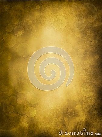 Golden Bokeh Glow