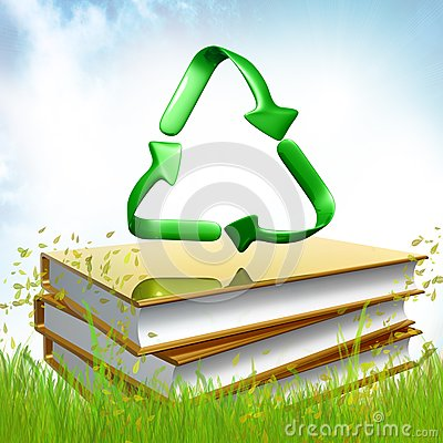 Golden books about recycle