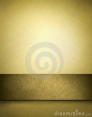 Free Golden Brown Background With Copy Space Royalty Free Stock Photography - 17031597