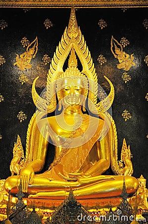 Free Golden Buddha Stock Photography - 16125112