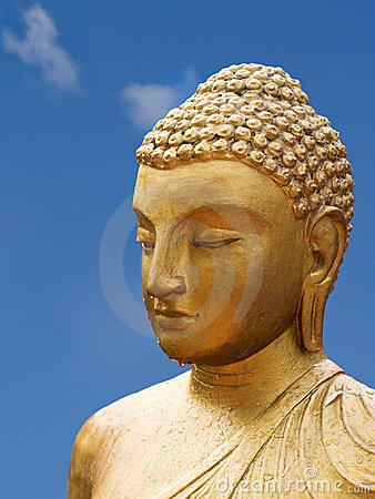 Free Golden Buddha Royalty Free Stock Photography - 664097
