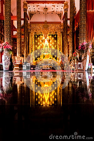 Free Golden Buddha At Wat Phra That Suthon Mongkol Kiri Stock Photos - 69281853