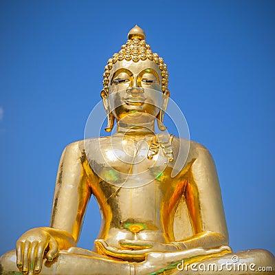 Free Golden Buddha Image Stock Image - 38587611