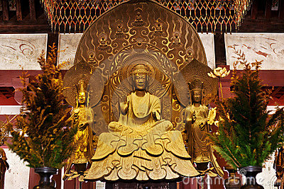 Golden buddha,  national treasure