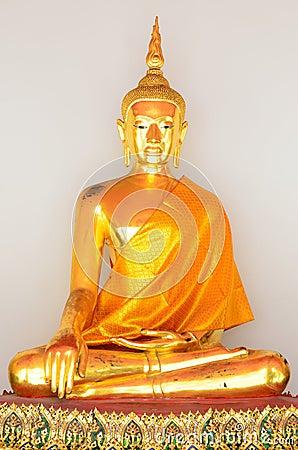 Free Golden Buddha Statue (Golden Buddha) At Wat Pho Royalty Free Stock Images - 30452339