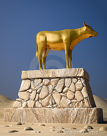 Free Golden Calf Stock Image - 16804571