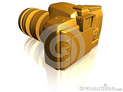 Golden camera