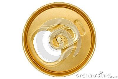 Golden  can top