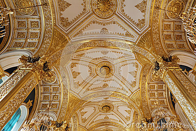 Golden ceiling
