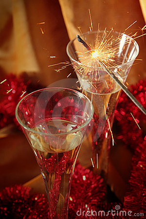 Free Golden Celebration Stock Photography - 1600862