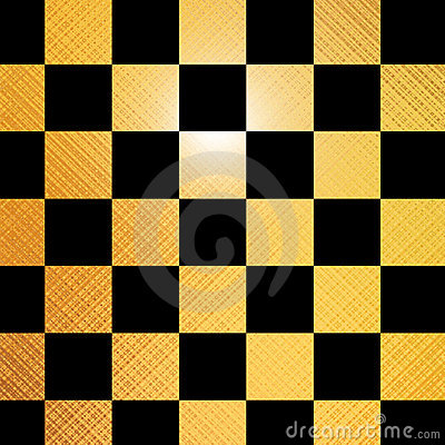 Golden chessboard
