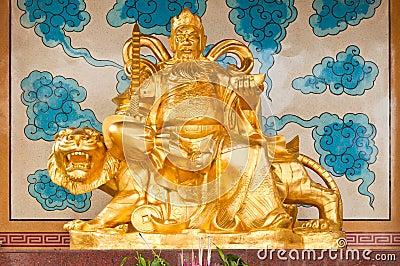 Golden Chinese Prosperity Money God