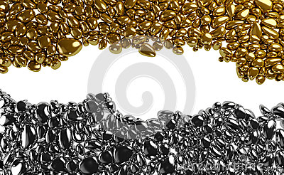 Golden and Chrome Stones
