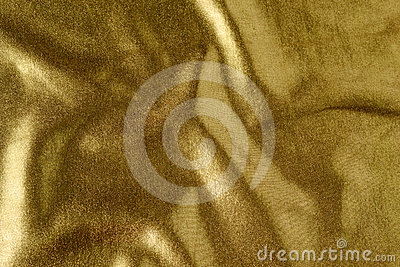 Golden cloth