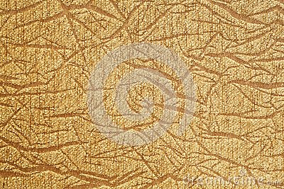 Golden cloth texture