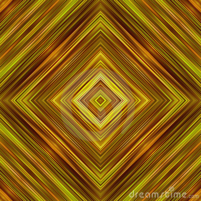 Golden color squares abstract background.