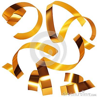 Golden confetti A