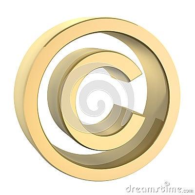 Golden copyright