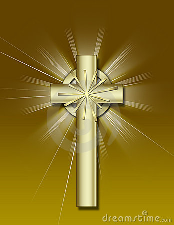 Free Golden Cross Stock Photography - 1758252