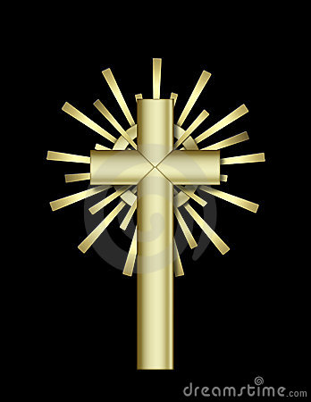 Free Golden Cross Stock Image - 1758311