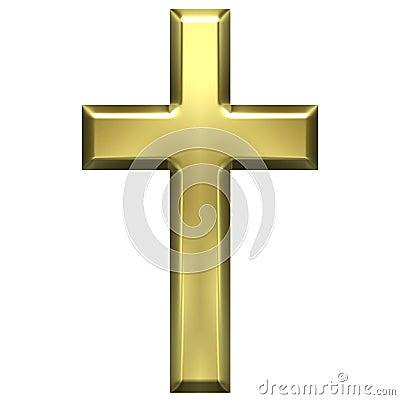Free Golden Cross Stock Images - 2690664