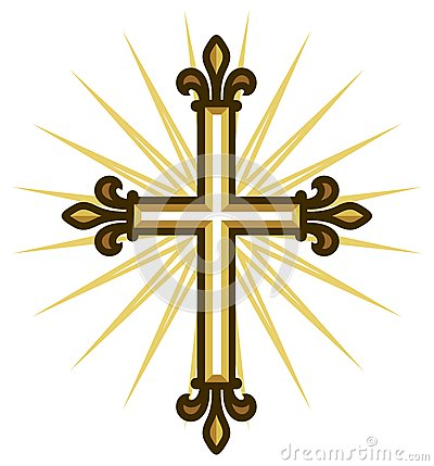 Free Golden Cross Royalty Free Stock Images - 36011329
