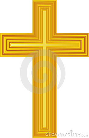 Free Golden Cross/eps Royalty Free Stock Photo - 5575725