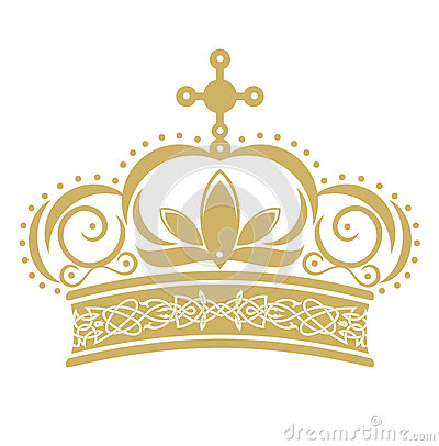 Free Golden Crown Royalty Free Stock Photo - 41084455