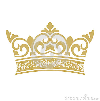 Free Golden Crown In Vectors Stock Images - 41229044