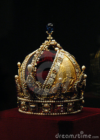 Free Golden Crown Of Emperor Rudolf II Royalty Free Stock Photos - 520788