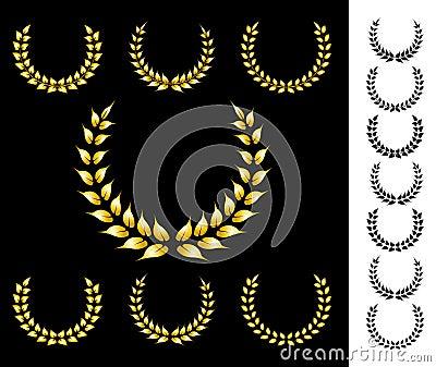 Golden crowns