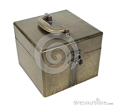 Free Golden Cube Box Stock Photo - 19861550