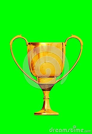 A golden cup