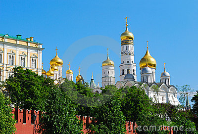 Golden cupolas