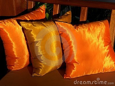 Golden cushions 2