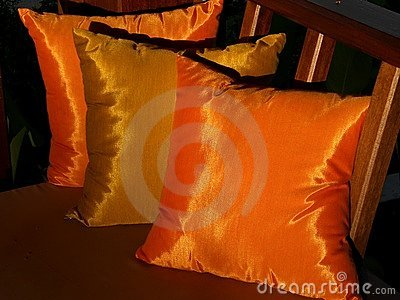 Golden cushions 3