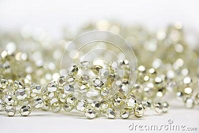 Golden Decoration Beads