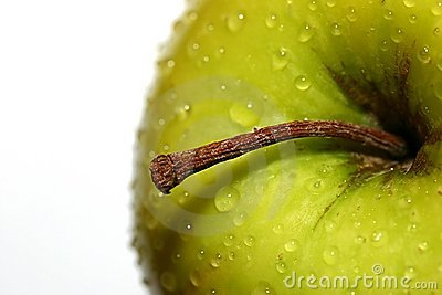 Golden Delicious with  Water Drops