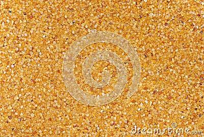 Golden desert sand