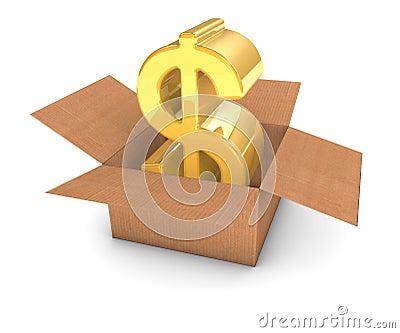 Golden Dollar in Box