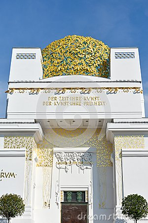 Free Golden Dome Of Vienna Secession Building Royalty Free Stock Image - 123977606