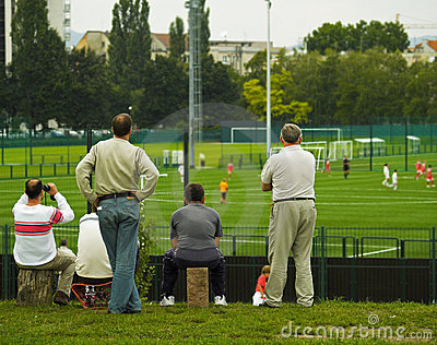 Golden Dream / Parents Watching Soccer Game