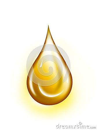 Golden drop
