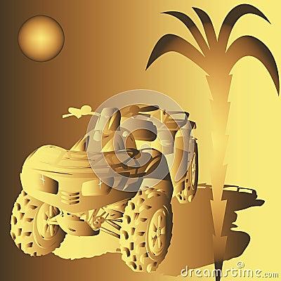 Golden Dune buggy