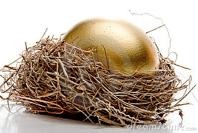 Golden Egg Royalty Free Stock Image - Image: 10459116