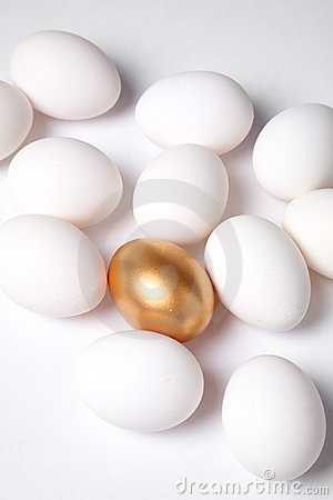 Free Golden Egg Stock Images - 2444714