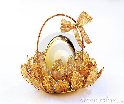 Golden Egg Royalty Free Stock Photo - Image: 3352815