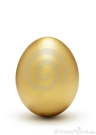 Golden egg, a symbol of profit