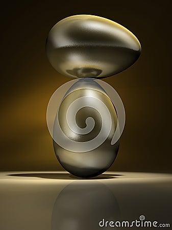 Golden eggs equilibrium