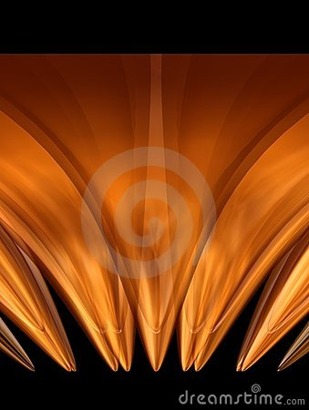 Free Golden Flower 6 Stock Image - 2084731